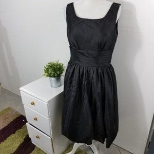 3/15 Azazie Black Fit Flare Kira Bridesmaid Dress